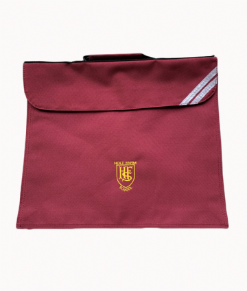 Holt Farm Expandable Book Bag - Maroon
